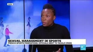 Olympic sprinter Ayodelé Ikuesan talks to FRANCE 24 about ways to tackle sex abuse in French sport.