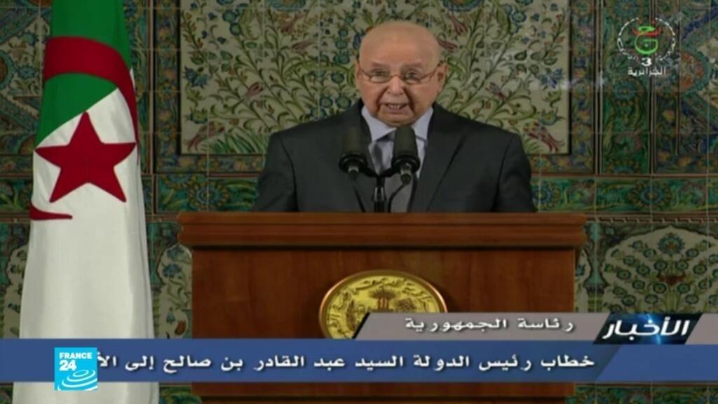 الجزائر: بن صالح يدعو الطبقة السياسية إلى الحوار للتوصل إلى توافق حول تنظيم انتخابات رئاسية