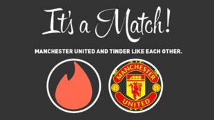 Man U X Tinder, le match parfait ?