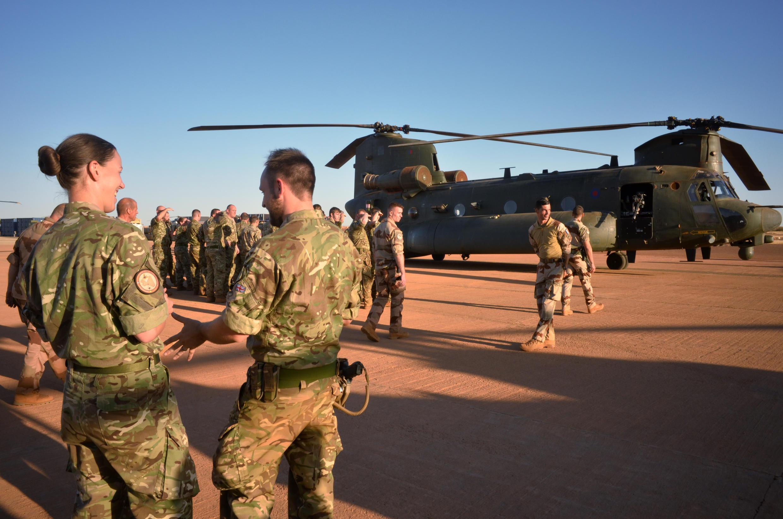 13 pays européens et africains ont annoncé vendredi la formation de la Task Force Takuba pour combattre les terroristes au Sahel. Photo à Gao, au Mali, le 15 décembre  2019.