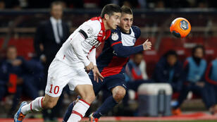 James Rodriguez et Marco Verratti