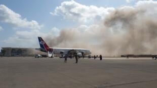 Yémen Avion explosions aéroport Aden