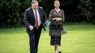 Pompeo met with Prime Minister Mette Frederiksen, before talks with his Danish counterpart Jeppe Kofod