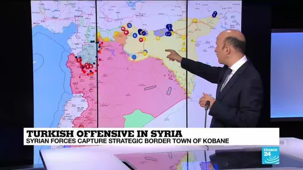 2019-10-17 11:03 Turkish offensive in Syria: A complex situation on the ground