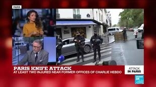 2020-09-25 15:04 Terror probe opened after two wounded in Paris knife attack