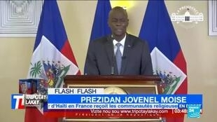 2021-02-08 09:36 Haiti political crisis: President Moïse alleges coup conspiracy, says 20 arrested