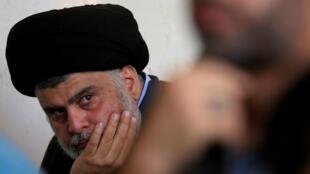 الزعيم الشيعي العراقي مقتدى الصدر. 1 نوفمبر/تشرين الثاني 2019.
