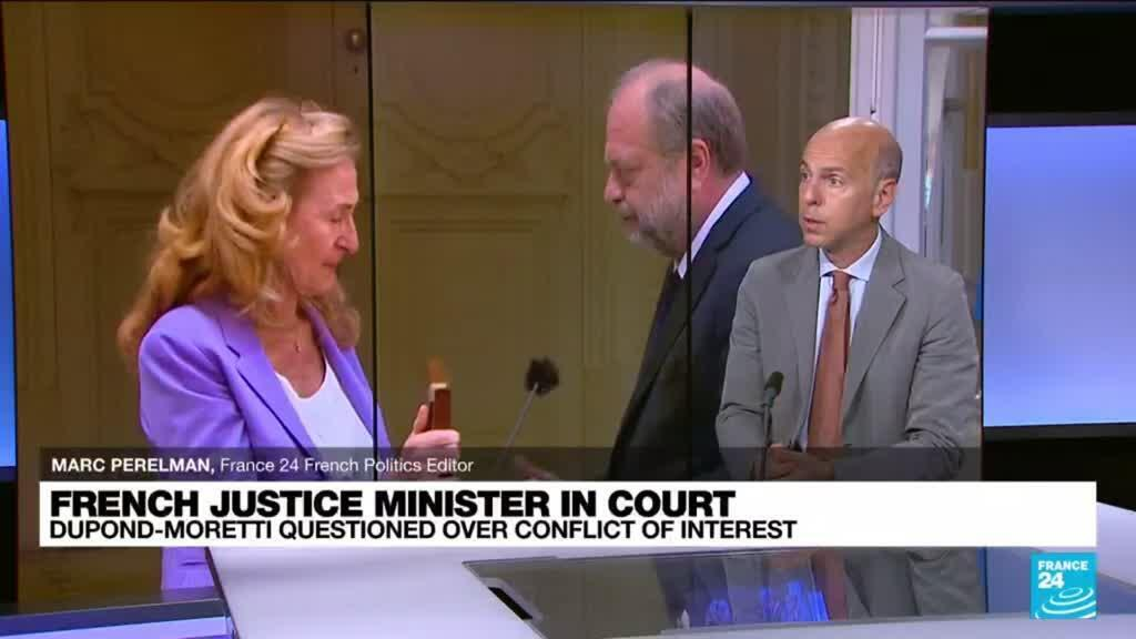 2021-07-16 11:11 'It's unprecedented': French justice minister Dupont-Moretti questioned over conflict of interest