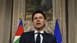 Le juriste Giuseppe Conte a renoncé à former un gouvernement, dimanche 27 mai.