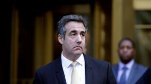 Michael Cohen arrive au tribunal de New York, le 21 août 2018.