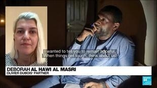 2021-06-08 10:09 Wife of french journalist Olivier Dubois hostage in Mali calls for help