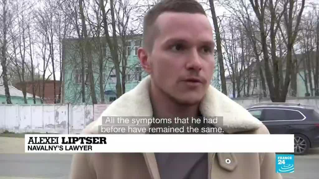 2021-04-20 08:06 Lawyer for Russia's hunger-striking Navalny says his health is 'getting worse'