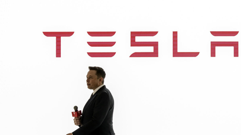 Elon Musk, patron de Tesla.