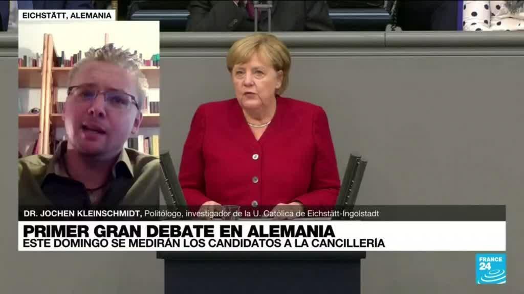"2021-08-29 14:36 Jochen Kleinschmidt: ""Todos los candidatos quieren ser como Angela Merkel"""
