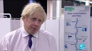 2021-01-12 13:09 PM Johnson says UK in 'race against time' as it faces worst weeks of pandemic