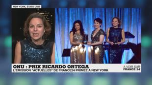 """C'est une émission de """"ActuElles"""" consacrée aux """"Femmes Casques bleus"""" qui a été primée."""