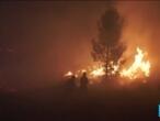 Un vaste incendie ravage le centre du Portugal