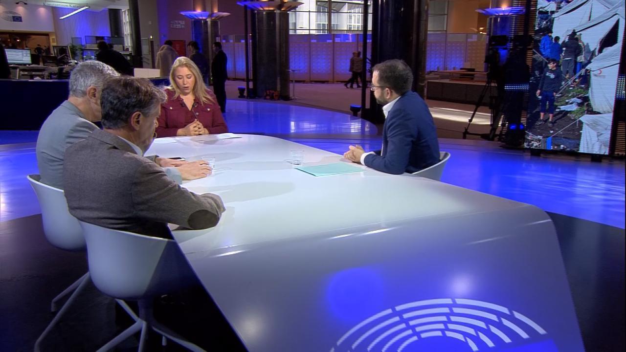 ICI L'Europe - Débat migrants
