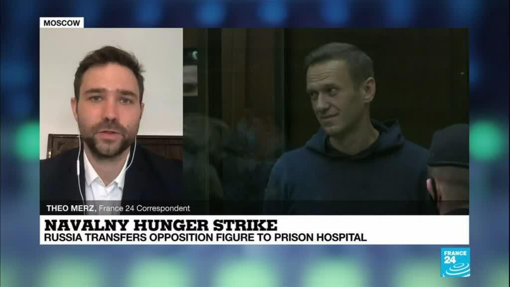 2021-04-20 09:05 Navalny hunger-strike: Russia transfers opposition figure to prison hospital