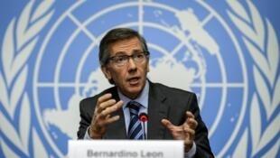 - المبعوث الخاص للأمم المتحدة برناردينو ليون