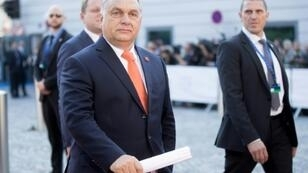 "Hungary's Prime Minister Viktor Orban, pictured September 2018, said that the changes to the original Posted Workesr Directive (approved by the European Parliament in May 2018) are ""contrary to the prohibition of discrimination"""