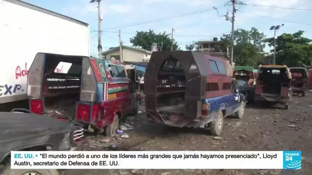 2021-10-19 01:01 Transportistas haitianos lideran huelga nacional para rechazar la inseguridad que vive la isla
