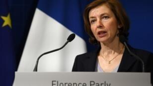 وزيرة الجيوش الفرنسية فلورانس بارلي