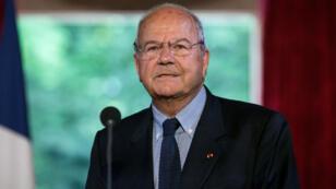 Marc Ladreit de Lacharriere, le 10 juin 2016, à l'Élysée.