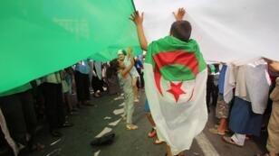 الجمعة ال28 من الحراك الشعبي في الجزائر. 30 أغسطس/آب 2019.