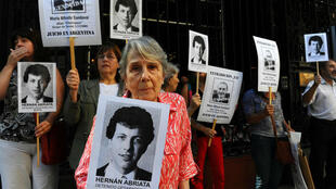 Campaigners have long sought justice for Hernan Abriata.