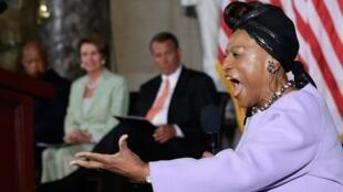 Jessye Norman le 31 juillet 2013 à Washington.