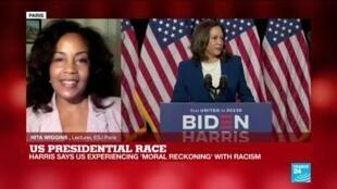 2020-08-12 23:36 US Presidential Race: Joe Biden introduces Kamala Harris as his running mate