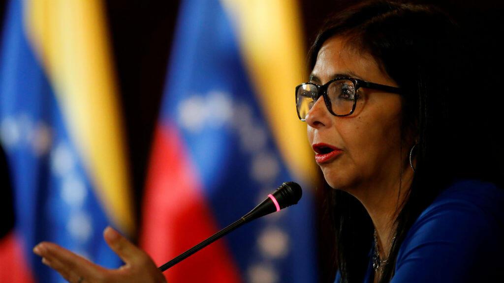 Delcy Rodríguez, presidenta de la Asamblea Constituyente de Venezuela.