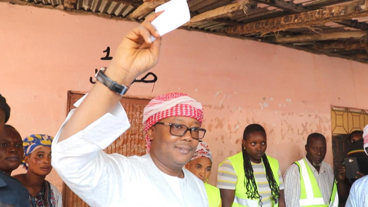Umaro Sissoco Embalo vainqueur de l'élection présidentielle