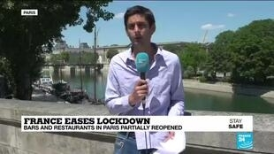 2020-06-02 15:08 Parisians back to museums as France eases coronavirus lockdown measures