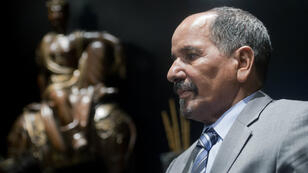 Mohamed Abdelaziz, le président du Front Polisario, à Madrid le 14 novembre 2014.