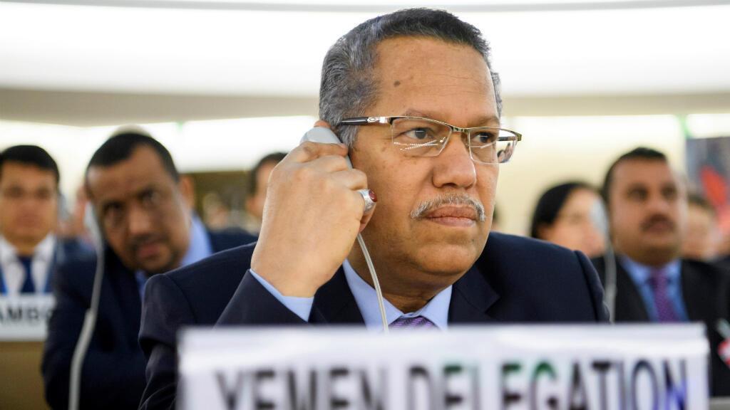 L'ancien Premier ministre yéménite Ahmed ben Dagher, le 25 avril 2017 à Genève.