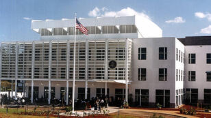 Washington's mission to Somalia is currently based at the US embassy in neighbouring Kenya.