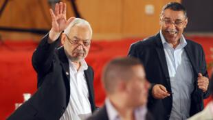 Rached Ghannouchi, le chef de file du parti islamiste tunisien Ennahda