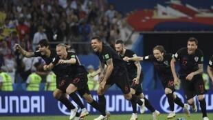 La Croatie a éliminé en quarts de finale la Russie aux tirs au but 4 à 3, le samedi 7 juillet 2018.