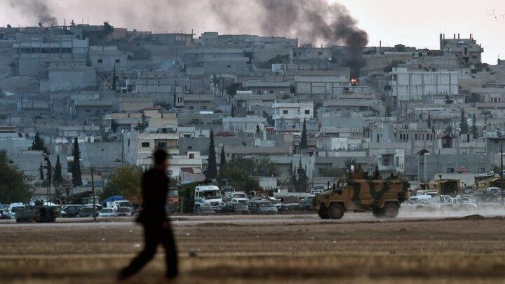 مدينة عين العرب (كوباني) الكردية السورية