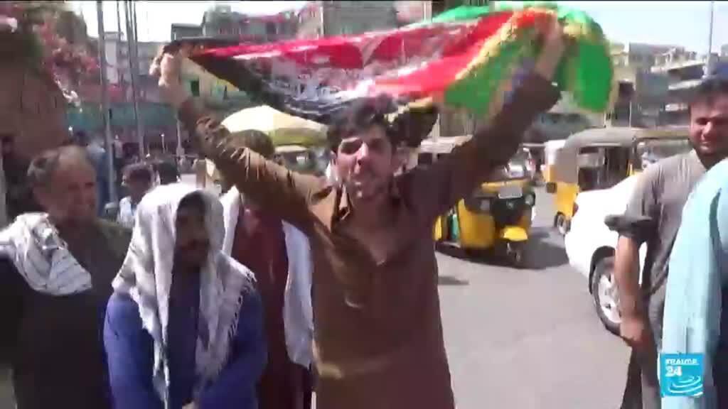2021-08-20 09:03 Des Afghans défient les talibans, le fils de Massoud appelle à la résistance