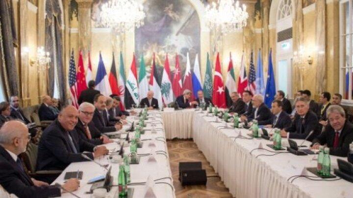 جانب من اجتماع فيينا حول سوريا