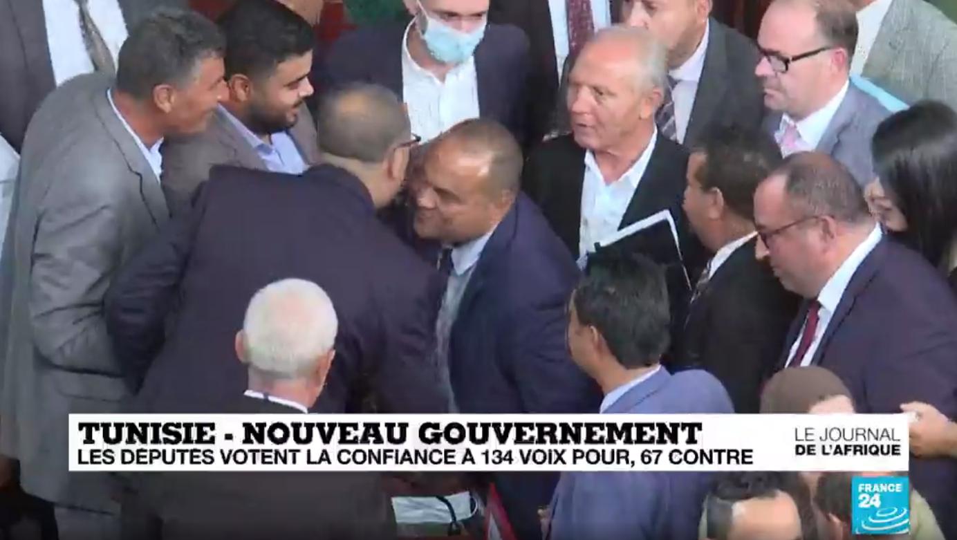 Le Parlement apporte son soutien au gouvernement tunisien