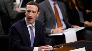 Mark Zuckerberg testificó ante los comités de Comercio y Judicatura del Senado estadounidense por el caso de filtración de datos y su uso por Cambridge Analytica. Abril 10 de 2018.