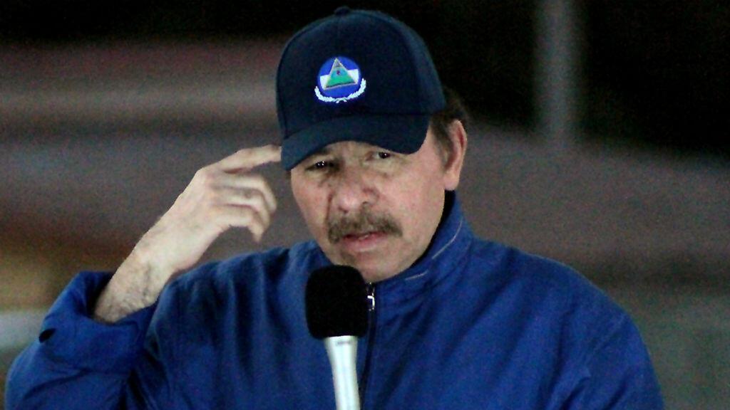 Archivo-El presidente de Nicaragua, Daniel Ortega, durante un discurso en Managua, el 22 de marzo de 2019.