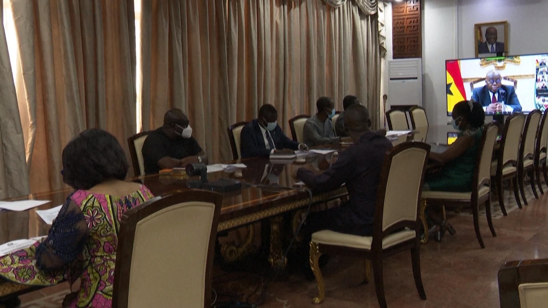 Réunion virtuelle de la Cédéao après le coup d'état en Guinée