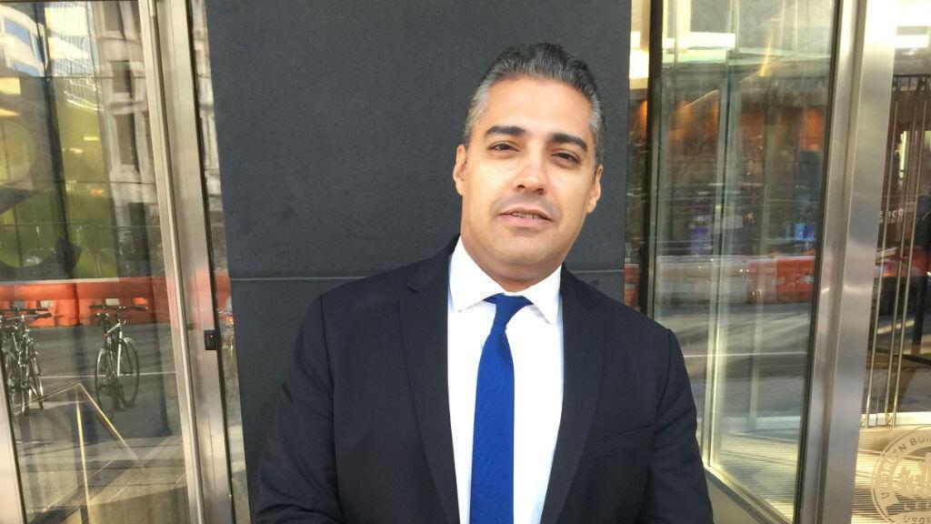 Mohamed Fahmy à Washington en décembre 2015.