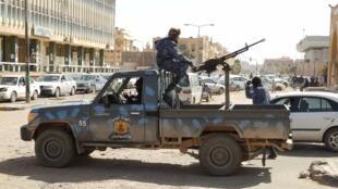 عناصر من قوات حفتر جنوب ليبيا