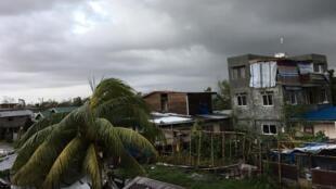 Les dégâts causés par Phanfone à Tanauan, le 25 décembre 2019.